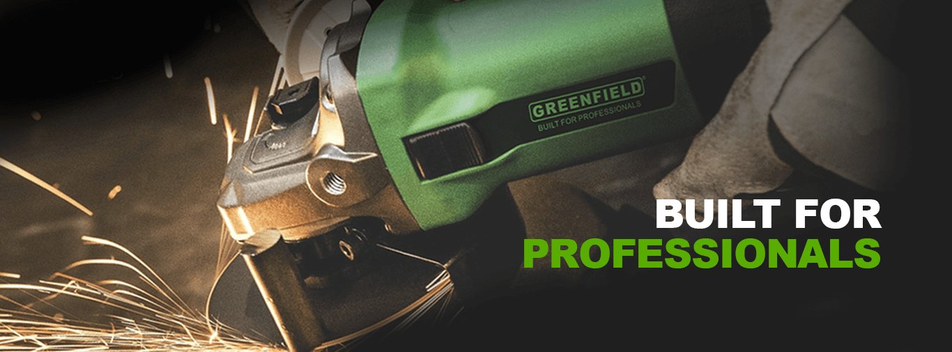 Greenfield - Built for professionals